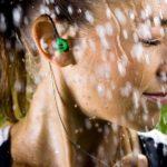 waterproof head phones